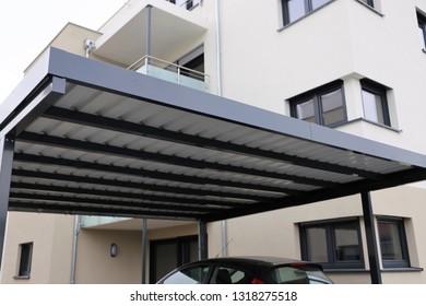 High-quality aluminium carport