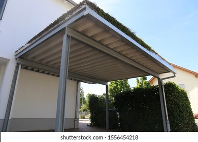 High-quality carport made of aluminum