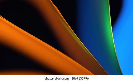 High-quality colorful backgrounds. Pictures of colorful, RGB-backlit cards The colours of the rainbow