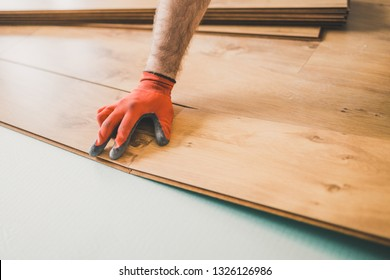 High-quality and professional work finisher - laying laminate