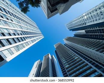 High-rise apartment Street