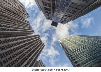 Highrise buildings