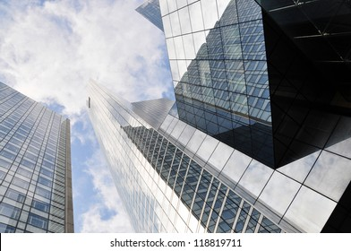 High-rise buildings in La Defense district of Paris