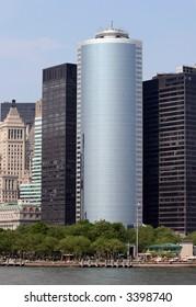 High-rise buildings at Lower Manhattan