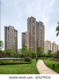 High-rise residential building.