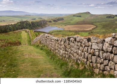 Highshield Crags, Hadrian's Wall, Northumberland, England