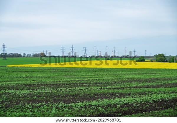 highvoltage-power-line-crosses-spring-60