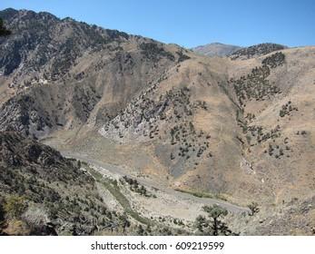 Highway 395 scenery in California