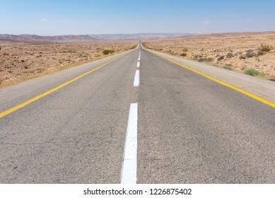 Highway 90 in Israel