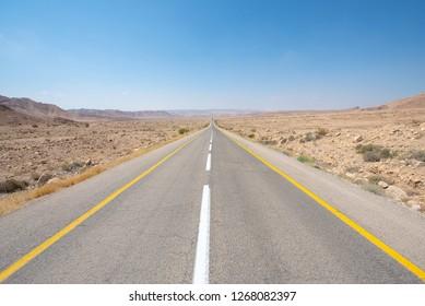 Highway 90, Negev, Israel.jpg