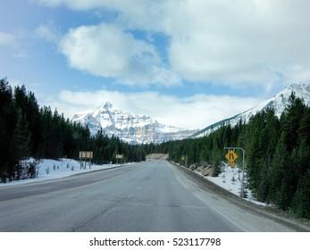 Highway 93 -Kootenay Highway, Canadian Rockies