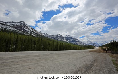 Highway 93 to Kootenay National Park, British Columbia, Canada