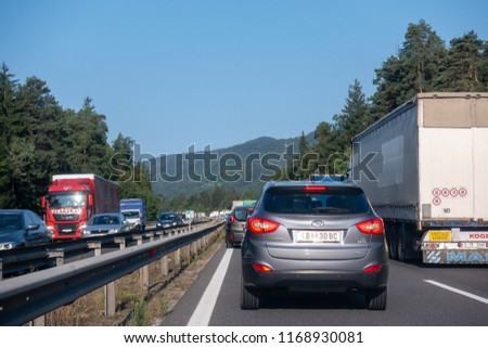 0ec8a76b8f Highway A 1 Near Vransko Slovenia 29 Stock Photo (Edit Now ...