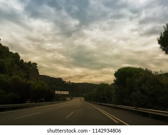 Highway at afternoon