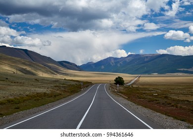 highway in the Altai