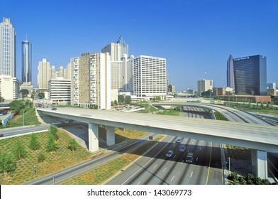 Highway in Atlanta, Georgia