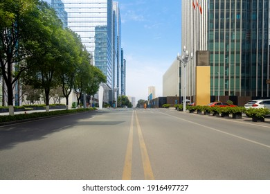 Highway and financial center office building in Chongqing, China