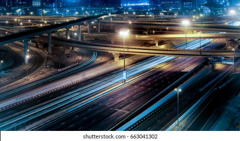 Highway and flyovers