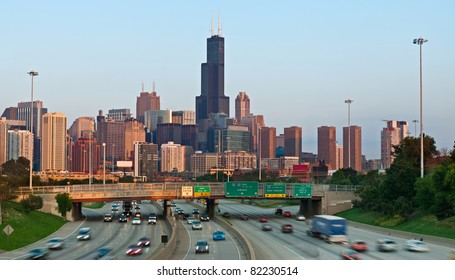 Highway Chicago Images, Stock Photos & Vectors | Shutterstock