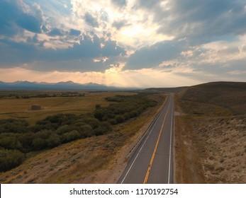 Highway to Jackson Montana