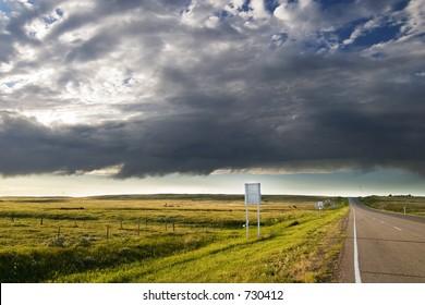 Highway on the Prairie