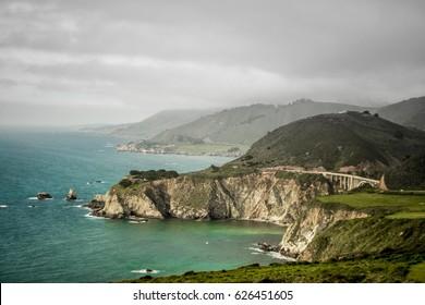 Highway One view / beautiful coastline