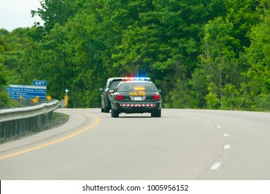 Highway Police Chase