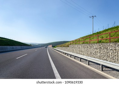 Highway road in Europe