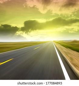 Highway speeds