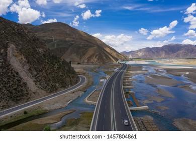 highway in tibet of china