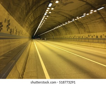 highway tunnel - Shutterstock ID 518773291