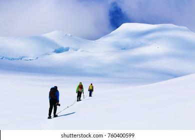 Hike Adventure in Antarctica