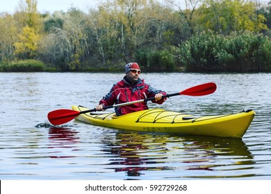 Hike along the river kayaking.