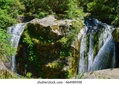 Hike to Cady waterfall, France