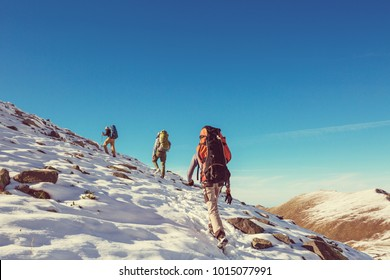 Hike in Kackar Mountains in eastern Turkey, autumn season.