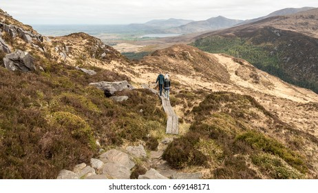 Hike on Torc Mountain in Killarney National Park