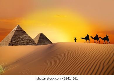 hike to pyramid