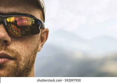 hiker face