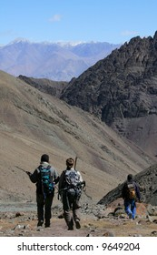 Hikers, Mountain Climb- Stok Kangri (6,150m / 20,080ft), India