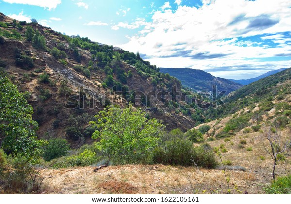 Hiking in Alpujarra in Spain