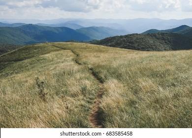 Hiking the Appalachian Trail // Max Patch, North Carolina