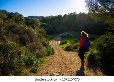 Hiking in Cami de Cavalls