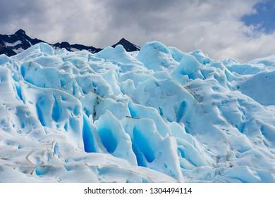 Hiking el calafate glacier in argentina