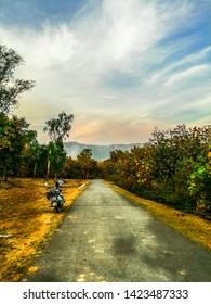Hiking in Hills of Purulia in Motorcycle(Royal Enfield)