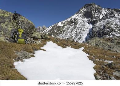 Hiking in the italian alps, Europe