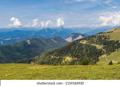 Hiking From Lake Weissensee To Mt. Latschur 2.336m In Carinthia Austria
