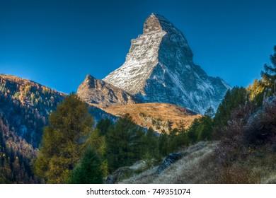 Hiking the Matterhorn, Zermatt (North Face), Visp, Valais, Switzerland
