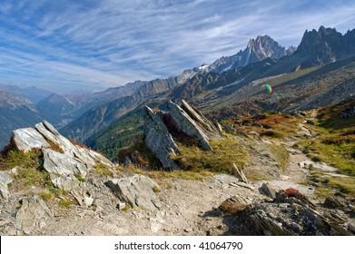 Hiking near Chamonix