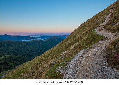 Hiking In The Nocky Mountains Of Carinthia Austria