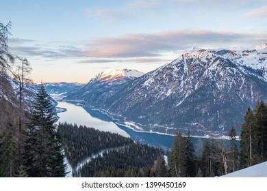 Hiking on Mount Barenkopf, Austria